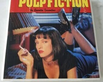 Pulp Fiction Ceramic Tile
