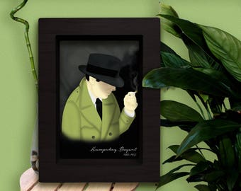 printable foil Humprhey Bogart