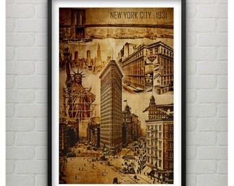 New York City : Circa 1931