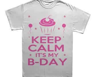Keep Calm It's My Birthday- Boy/Girl