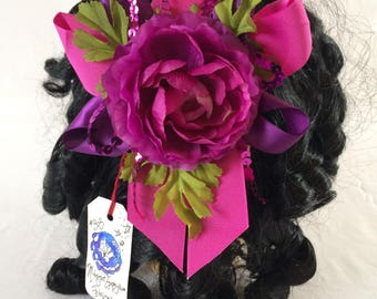 Pink Dawn Stars Fascinator Clip