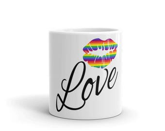 Love Pride Mug - made in the USA