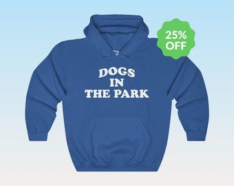 Dogs In The Park Hoodie