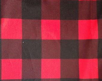 Oh Canada Collection - Red/Black Plaid Hat