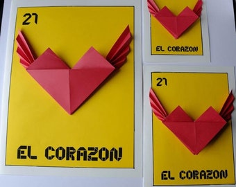 Origami Corazon Etsy Ca - Origami-corazn
