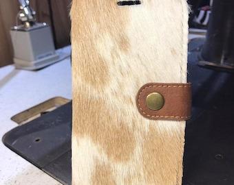 iPhone X Case (Genuine Cowhide) P84
