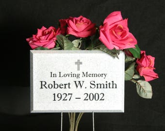 Temporary Memorial Grave Marker