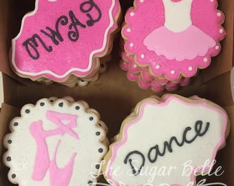 Dance Recital Sugar Cookies
