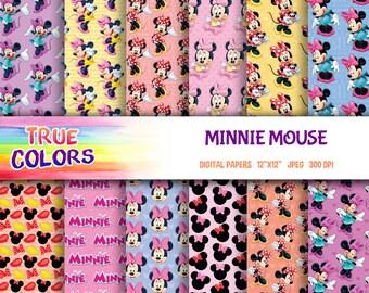 Minnie Mouse - Digital Paper