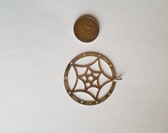 dream catcher pendant in 925 Silver