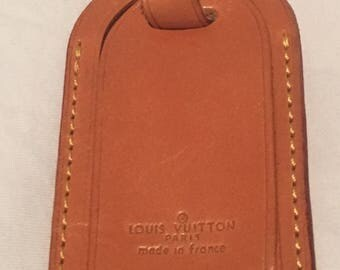 Set of Louis Vuitton Luggage Tags