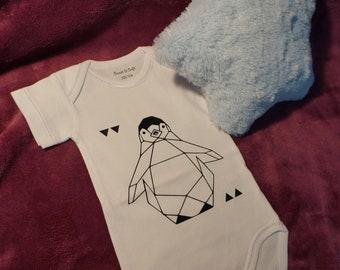 origami Penguin Bodysuit