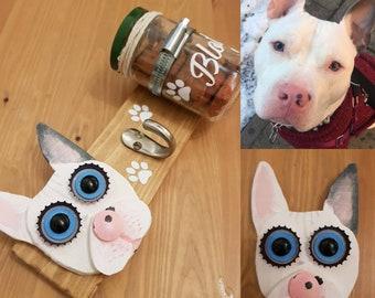 Bespoke Dog Lead & Treat Gift