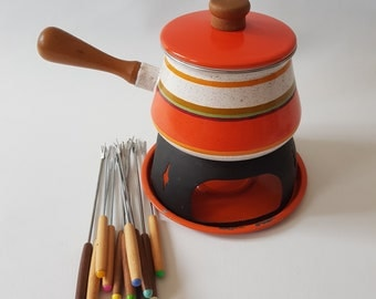 Retro Fondue set