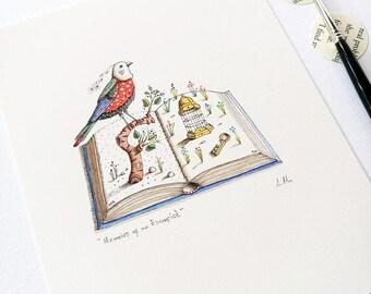Memoirs of an Escapist - Original Drawing