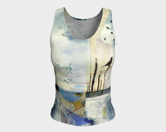 Longing Fitted Tank Top