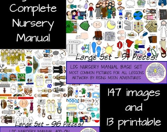 Complete LDS Nursery Manual DOWNLOAD Supplements