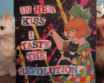 I Taste The Revolution {Original Collage}