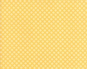 Pepper and Flax - Lacy Polka Dot in Tansy: sku 29045-26 cotton quilting fabric by Corey Yoder for Moda Fabrics