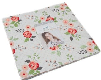 Nest Layer Cake by Lella Boutique for Moda Fabrics, 42 10 inch squares
