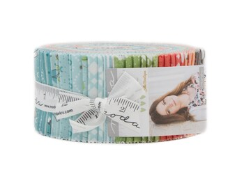 Nest Jelly Roll by Lella Boutique for Moda Fabrics, 40 2.5 inch strips