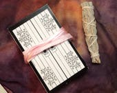 Tarot of the Absurd - 78 Card Kit with Hand Made Pouch & Mini White Sage Smudge Stick