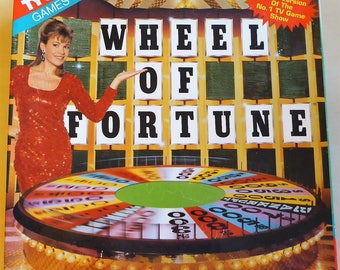 Vintage Wheel of Fortune board game from 1980s / great family gift