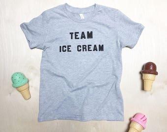 KIDS T-shirt - Team Ice Cream - youth sizes