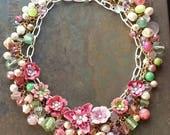 Apple Blossoms, a Springtime Necklace Celebration from Wendy Baker