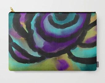 Original Abstract Art Carry All Pouch Clutch Purse Bag Handbag Cosmetics Bag Makeup Bag