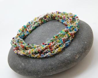 Festival/Beaded Bracelet/Beaded Necklace/Handmade Jewelry/Accessory/Gift for Her/Beadwoven Bracelet
