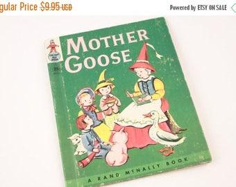 Tip Top Elf Book Mother Goose Rand McNally Nursery Rhymes ~ The Pink Room ~ 170209