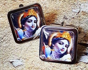 Krishna Cufflinks