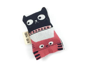 Kitty Cats Green Bean Organic Eco Friendly Catnip Cat Toy For Mew, Gift For Cat Lover