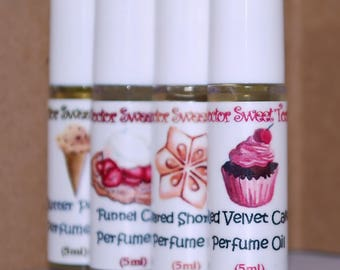 Try Me Perfume Oil Roll On Set (Pick Any Four Scents)