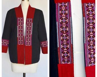 ethnic hippie boho jacket / medium- large