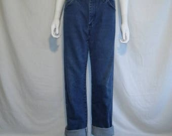 Closing Shop 40%off SALE Wrangler Jeans W 30 Waist, 80s 90s High Waisted Blue Denim Vintage Wrangler Wrangler's Mom Jeans