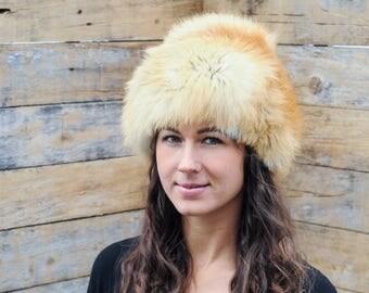 real fox fur hat small fox fur hat real red fox fur hat red fox fur hat fox fur winter hat small real fox fur hat real fox fur winter hat