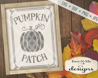 Pumpkin SVG  - fall svg - Pumpkin patch svg - autumn svg  - pumpkin svg files - pumpkin patch sign svg - Commercial Use svg, dxf, png, jpg