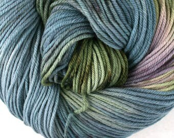 Windham 100% US Merino Hand Painted worsted weight 220 yds 201m ~4oz 113g Late Summer