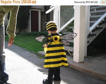 SUMMER SALE 20% OFF Handmade Bumble Bee Inspired Wings For Halloween Costume