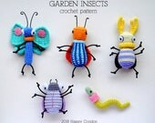 CROCHET PATTERN - Garden insects amigurumi