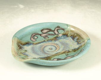 Spoon rest - wheel thrown pottery