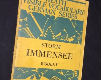 1936 Heath Visible Vocabulary German Series