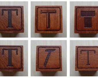 Letter L - single Alphabet Block