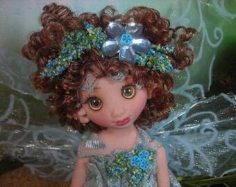 Fairy Fairies Fae pixie elf OOAK Fantasy Art Doll By Lori Schroeder 5E