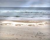 yin yang symbol photo, yin yang on beach, Byron Bay photo, Australia photo, Byron Bay beach art, yin yang photo, yin yang print, beach art