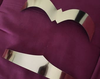 Gold Wonder Woman chestplate armor and belt pieces to make your own costume cosplay