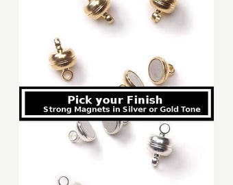 40% Retirement Closeout - Pick Your Finish, 11mm, Exceptionally Strong, 3 Clasps, Necklace Clasp, Bracelet Clasp, Darice Brand,