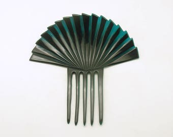 Vintage Mantilla Comb Art Deco Hair Accessory